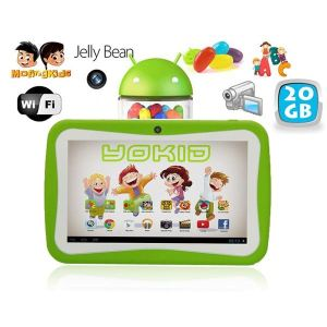 """Yonis Yokid 20 Go - Tablette tactile 7"""" sous Android 4.1 (4 Go interne + Micro SD 16 Go)"""