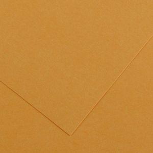 Canson 200040385 - Feuille Iris Vivaldi 50x65 240g/m², coloris cuir 32