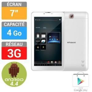 "Polaroid MID3407P 4 Go - Tablette tactile 7"" 3G sous Android 4.4 KitKat"