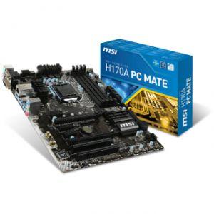 MSI H170A PC Mate - Carte mère Socket 1151