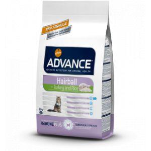 Advance Cat Hairball Dinde et riz 1,5 kg