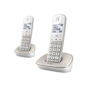 philips xl4902s t l phone sans fil 2 combin s comparer. Black Bedroom Furniture Sets. Home Design Ideas