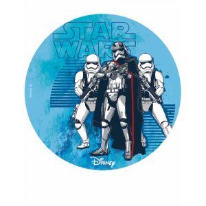 Disque en sucre Star Wars 16 cm
