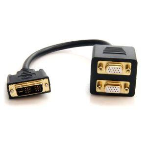StarTech.com DVISPL1VV - Câble Splitter DVI VGA M/F