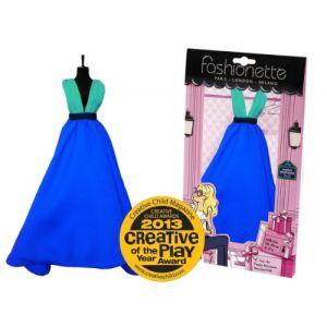 Fashionette Robe couture à décorer : Modèle Cendrillon  pour poupée mannequin