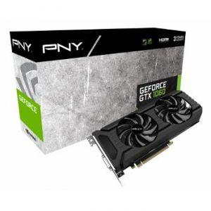 PNY GF1060GTX6GEPB - Carte graphique GeForce GTX 1060 6 Go