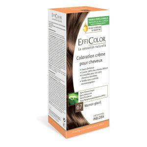EffiColor Marron Glacé N°67 - Coloration crème pour cheveux