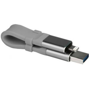 EssentielB Clé USB 3.0 OTG Lightning 64 Go