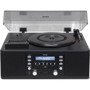 Teac LP-R500 - Tourne-disque radio K7, graveur CD