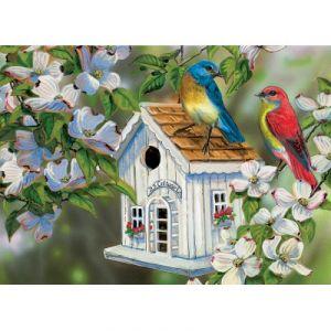 Eurographics 23 Cottage Lane pour oiseaux, Grende - Puzzle 300 pièces