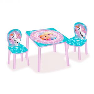 Worlds Apart Ensemble table et 2 chaises La Reine des Neiges