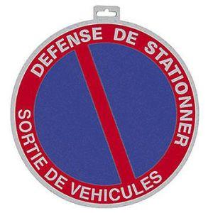 """Taliaplast 624211 - Panneau Ps choc """"défense de stationner sortie de véhicules"""" diamètre 80 mm"""