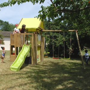 Soulet Chantilly - Aire de jeux en bois 2,35 m