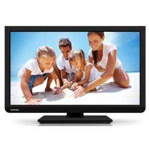 Toshiba 24D1333DG - Téléviseur LED 61 cm avec Lecteur DVD