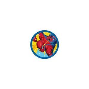 Fun House Horloge murale ronde Spiderman (30 cm)