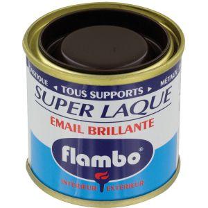 Flambo Laque brillante - 50 ml - Marron foncé