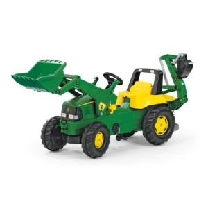 Rolly Toys Tractopelle à pédales John Deere