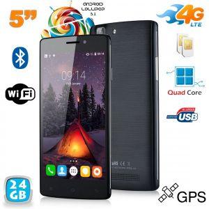 Yonis Y-sa64g24 - Smartphone 4G Android 5.1 Dual SIM 8 Go + carte 16 Go