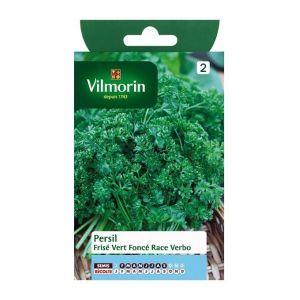 Vilmorin Persil frisé vert foncé race Verbo - Sachet graines