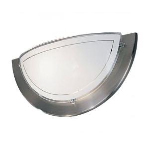 Eglo Applique E27 en métal et verre