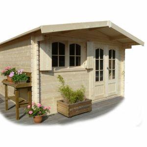 Solid S8969 - Abri de jardin Rignitz en bois 40 mm 14,25 m2