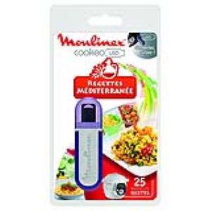 Moulinex XA600000 - Clef USB 25 recettes méditerranéenne pour Multicuiseur