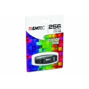 Emtec ECMMD256GC410 - Clé USB 3.0 C410 Color Mix 256 Go
