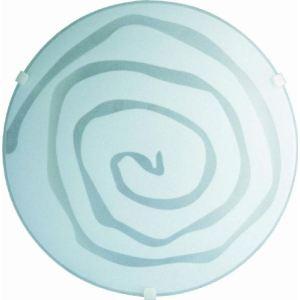 Mount massive Plafonnier Spirale en verre