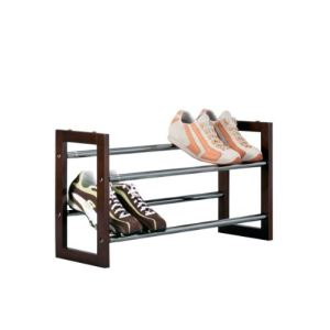 Porte chaussures extensible en bois