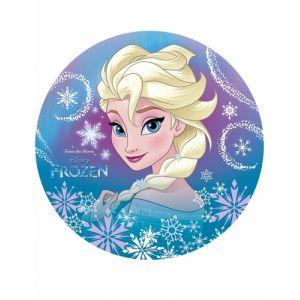 Disque azyme Elsa La Reine des Neiges 20 cm