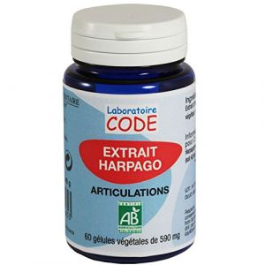 Laboratoire CODE Extrait Harpago Bio - 60 gélules