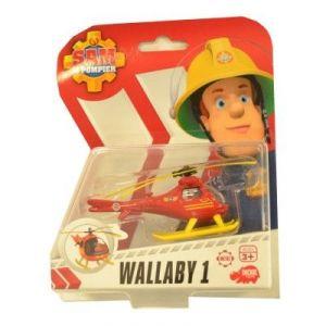 Dickie Toys Véhicule de secours Sam le Pompier : Wallaby 1