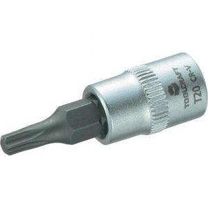 """Toolcraft Douille de 6,3 mm (1/4"""") avec embout Torx T20 de 37 mm"""