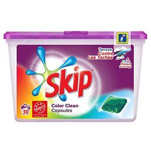 Skip Lessive Color Clean 30 capsules