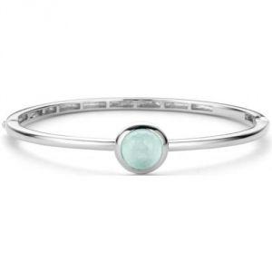 Ti sento 2821AG - Bracelet vert d'eau en argent pour femme