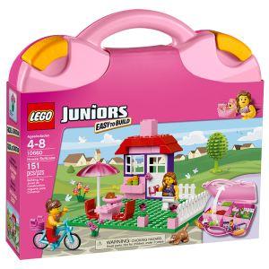 lego 10660 juniors valise de construction fille