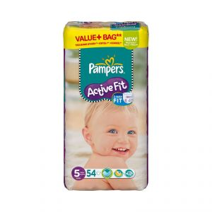 Pampers Active fit taille 5 Junior 11-25 kg - 54 couches