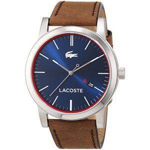 Lacoste 2010848 - Montre pour homme avec bracelet en cuir