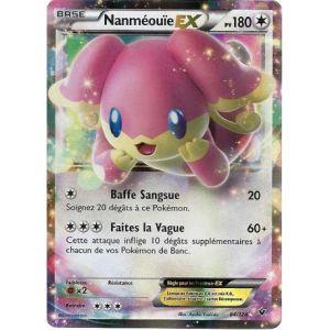 Asmodée Nanméouïe - Carte Pokemon 84/124 Ex Rare