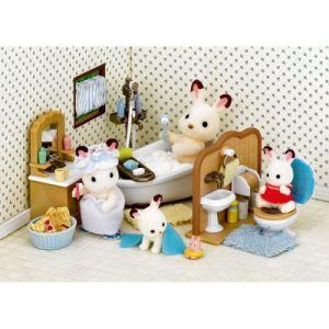 Epoch Sylvanian Families 2952 - Set salle de bain