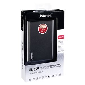 "Intenso Memory Home 500 Go - Disque dur externe 2.5"" USB 3.0"