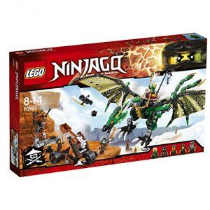 Lego 70593 - Ninjago : Le dragon émeraude de Lloyd