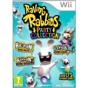Les Lapins Crétins : Party Collection sur Wii