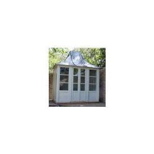 Cabane de jardin en bois exotique 6 12 m2 style anglais for Cabane de jardin prix