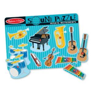 Melissa & Doug Puzzle sonore Instruments musicaux 8 pièces