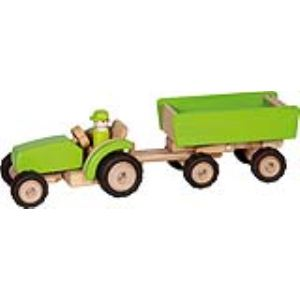 Goki Tracteur avec remorque