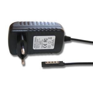 Vhbw Bloc d'alimentation chargeur 220V 24W 12V/2A pour notebook et tablette Microsoft Surface RT, RT 2