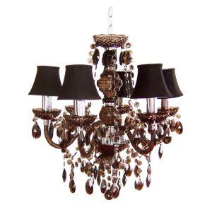 chandelier baroque noir comparer 26 offres. Black Bedroom Furniture Sets. Home Design Ideas