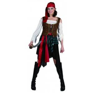 Déguisement de femme pirate (taille S)