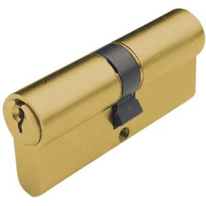 Tesa 50303090L - Cylindre de serrure TE5 120mm (30+90) laiton